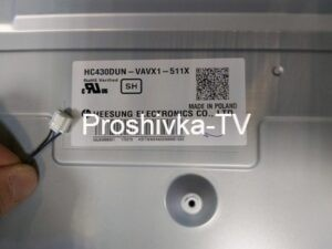 ПОДСВЕТКА LED_ID:MODEL:HC430DUN-VAVX1-511X LG 43LH520V
